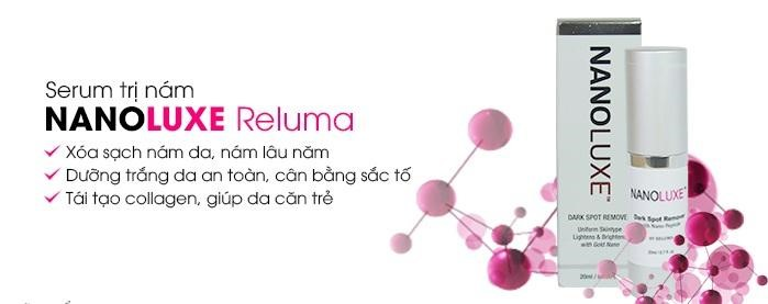 Serum trị nám Nanoluxe Dark Spot Remover by Reluma
