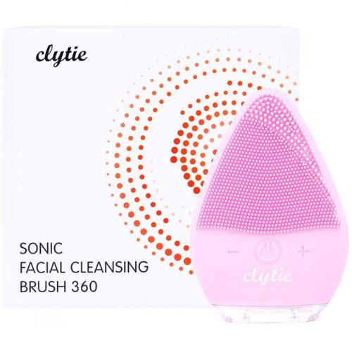 máy rửa mặt clytie sonic facial cleansing brush 360