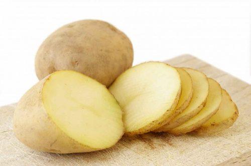 khoai tây giúp giảm mụn